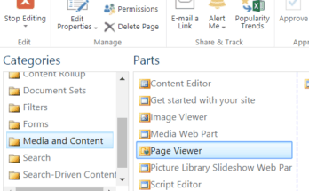 page viewer web part SharePoint