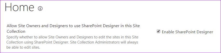 SharePoint designer 2013: you don't have permission to open this website
