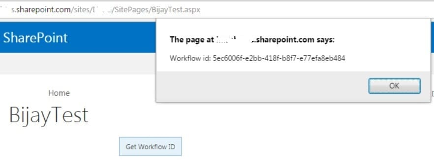 Get workflow template id using jsom sharepoint 2013