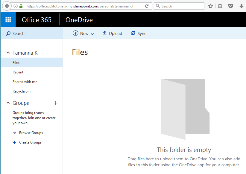 Get direct download link of a file in OneDrive for Business