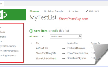 hide quick launch sharepoint 2013