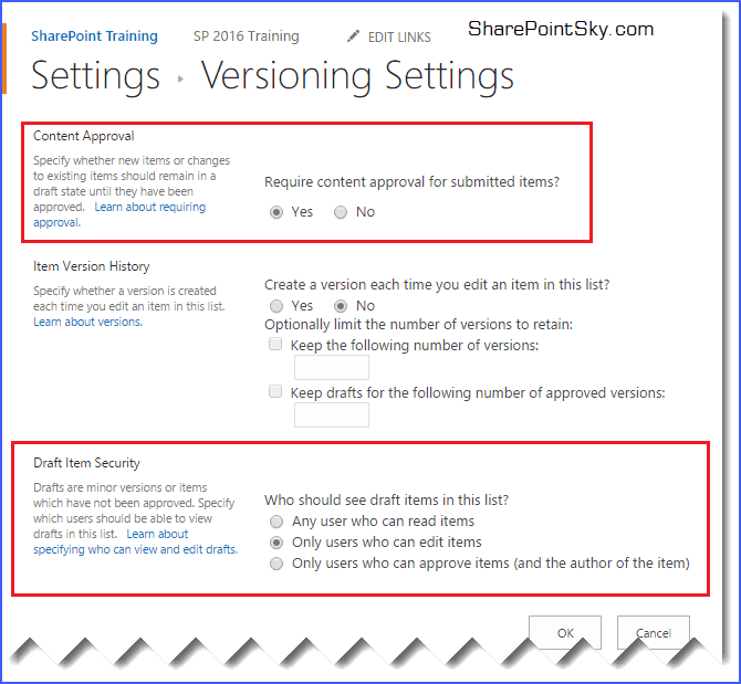 sharepoint 2013 content approval workflow