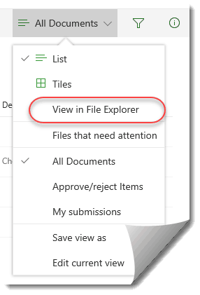 sharepoint 2016 view in file explorer missing