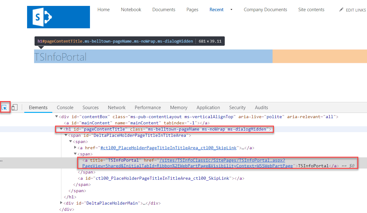 how to hide page title in sharepoint