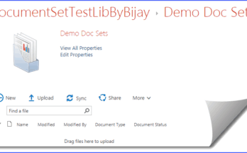 SharePoint Online document sets welcome page properties