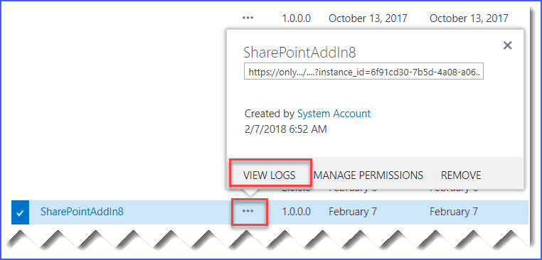remove app sharepoint online powershell