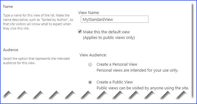 create list view sharepoint 2013