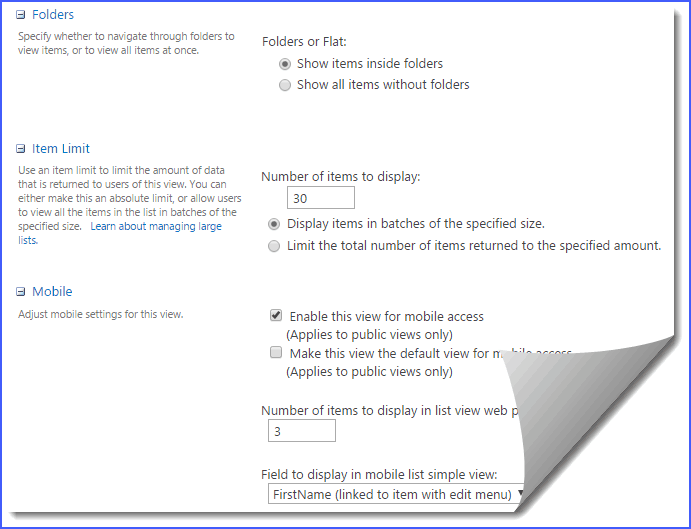 SharePoint online Create list view