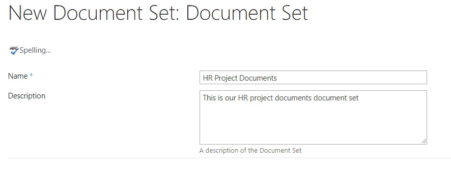 enable document sets sharepoint online
