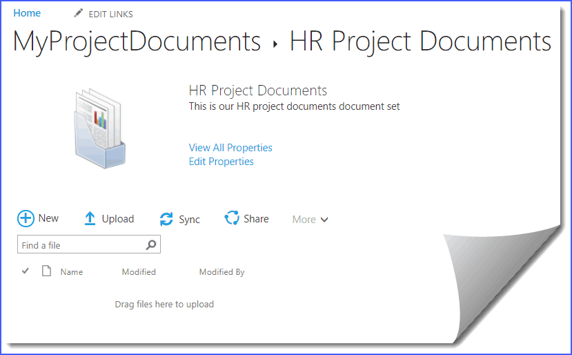 how to create a document set in sharepoint 2013