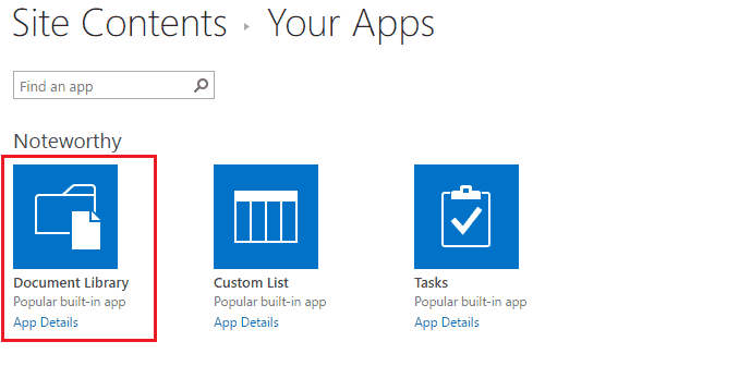 Document library in sharepoint 2013 sharepointsky for Sharepoint 2013 document library template