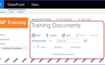 Create a document library in sharepoint office 365 for Office 365 design document