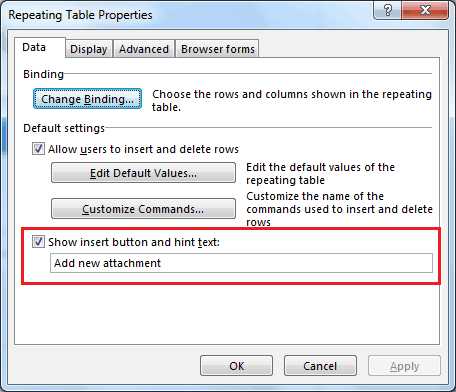 infopath 2013 multiple file attachments