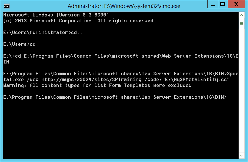 Linq to SharePoint 2013