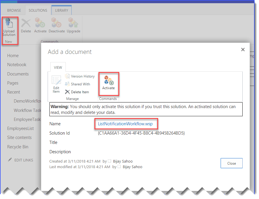 sharepoint 2013 move workflow to another site