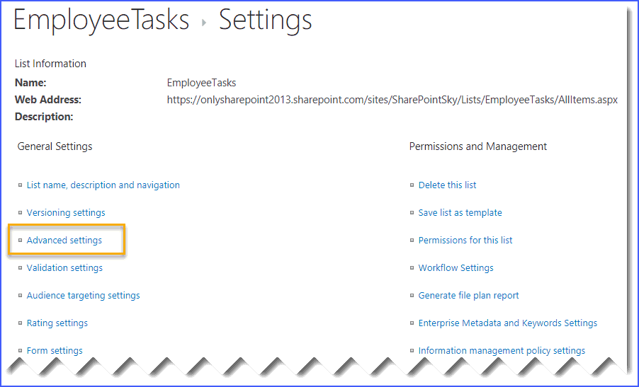 add content type to sharepoint online list or document library
