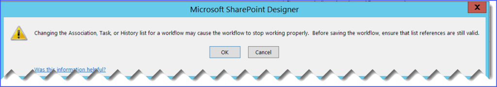 how to create workflow history list in sharepoint 2013