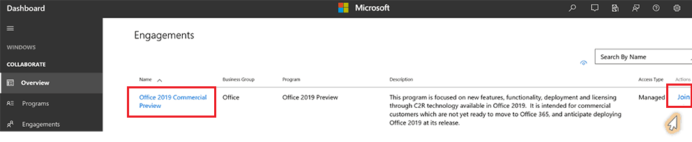 office 2019 preview download