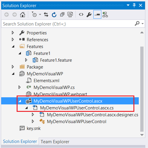 Create and Deploy Visual web part using Visual Studio 2015 SharePoint 2016/2013
