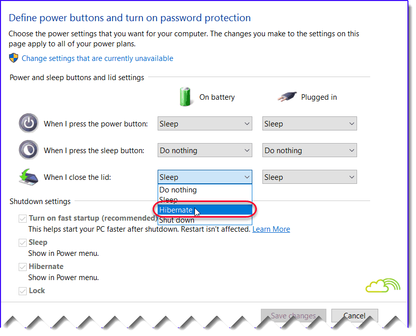 How to enable hibernate in windows server 2016? - SharePointSky