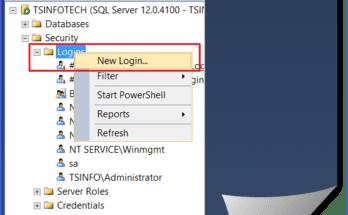 add user to sql server