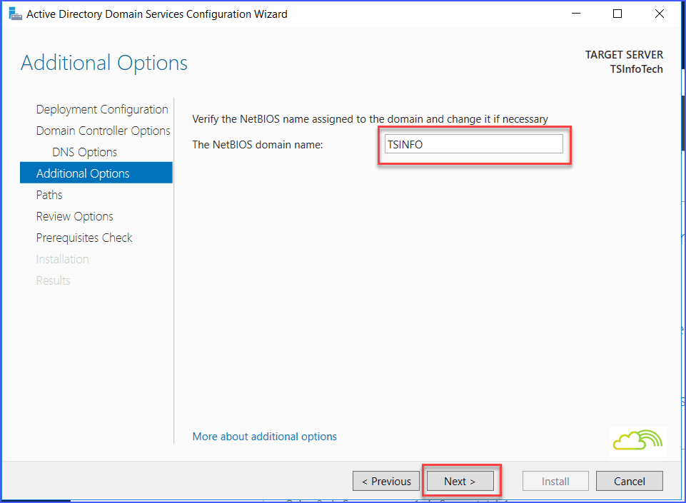 Install And Configure Windows Server 2016 Active Directory And