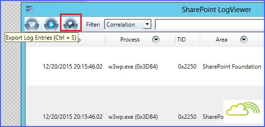 SharePoint 2016 log viewer