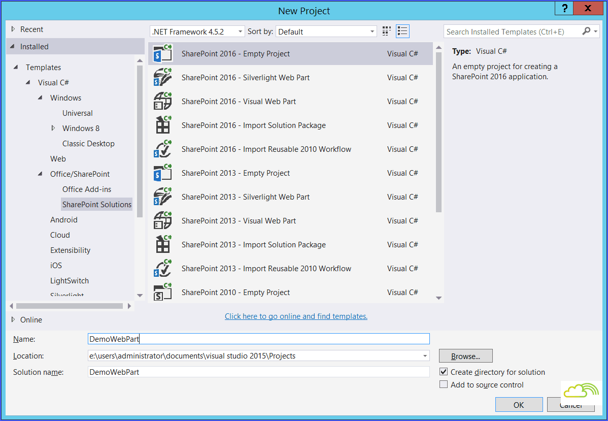sharepoint web parts examples
