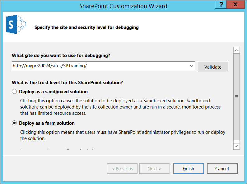 create visual webparts in sharepoint 2013 step by step