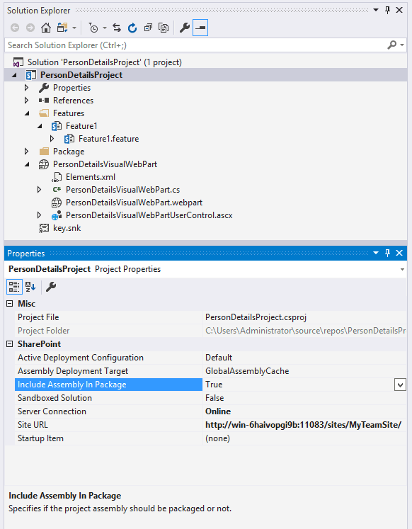 $Resources:core,Import ErrorMessage error while adding visual web part in SharePoint 2016