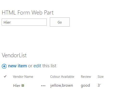 create html form in sharepoint 2010
