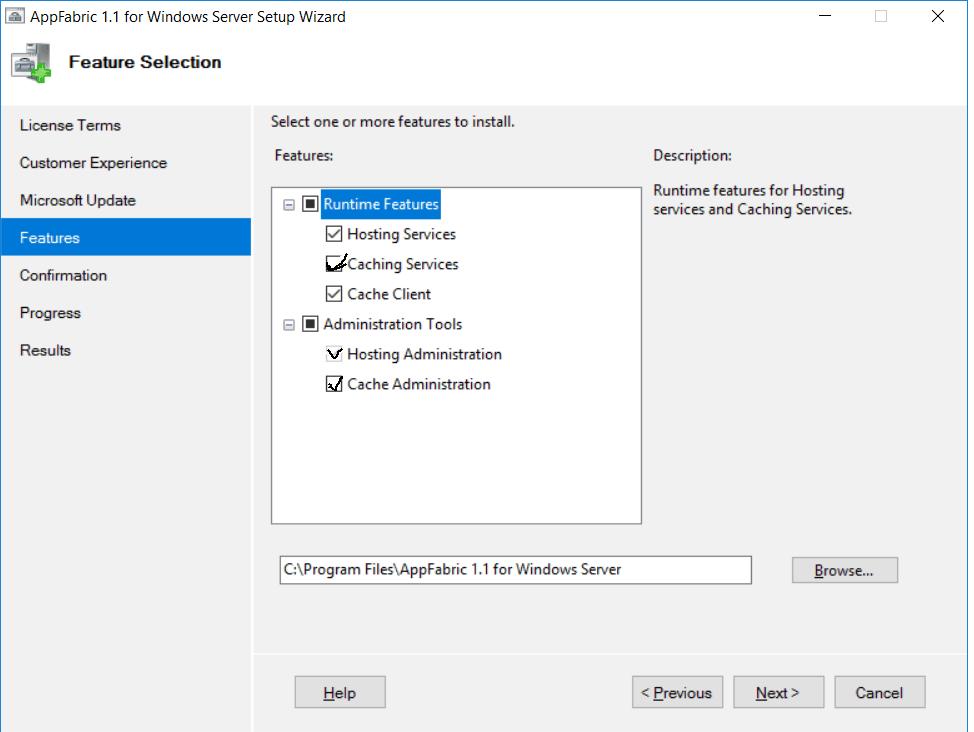 Windows Server Appfabric: download error - SharePointSky