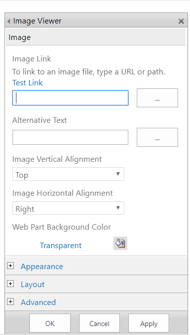 how to add image web part in sharepoint 2013