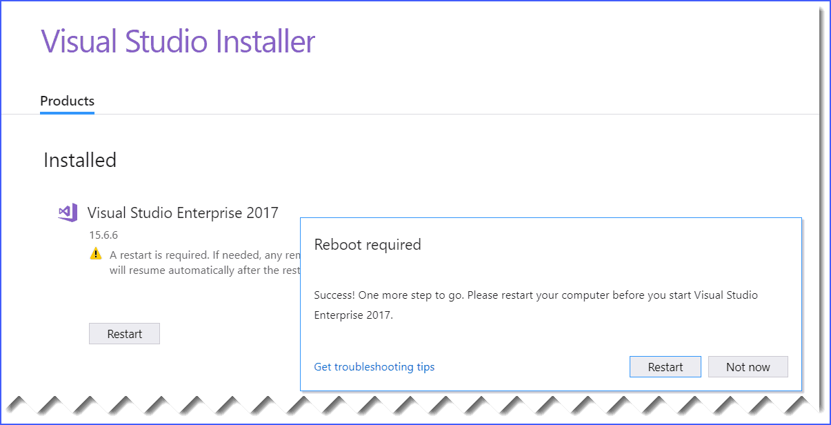 how to delete a project in visual studio 2017
