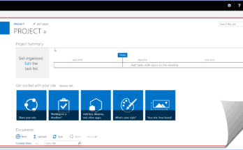 project site template sharepoint online