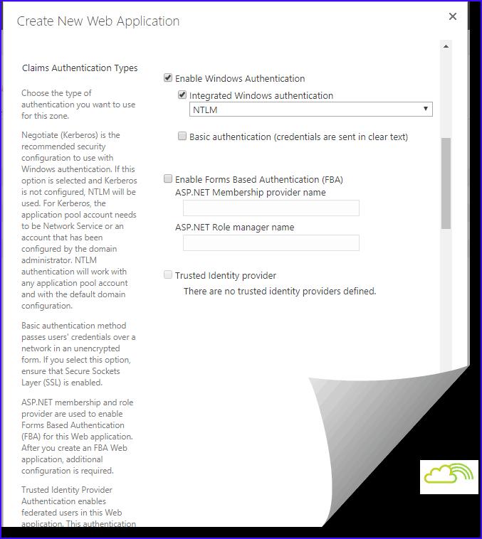 new-spwebapplication sharepoint 2016