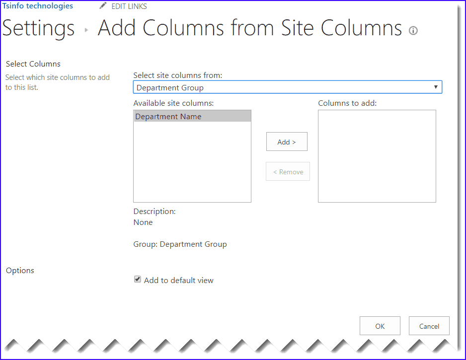 how to create site columns in sharepoint online