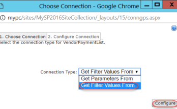 sharepoint list filter web part 2016