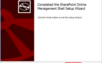 how to use sharepoint online management shell