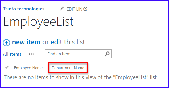 What is SharePoint site column?