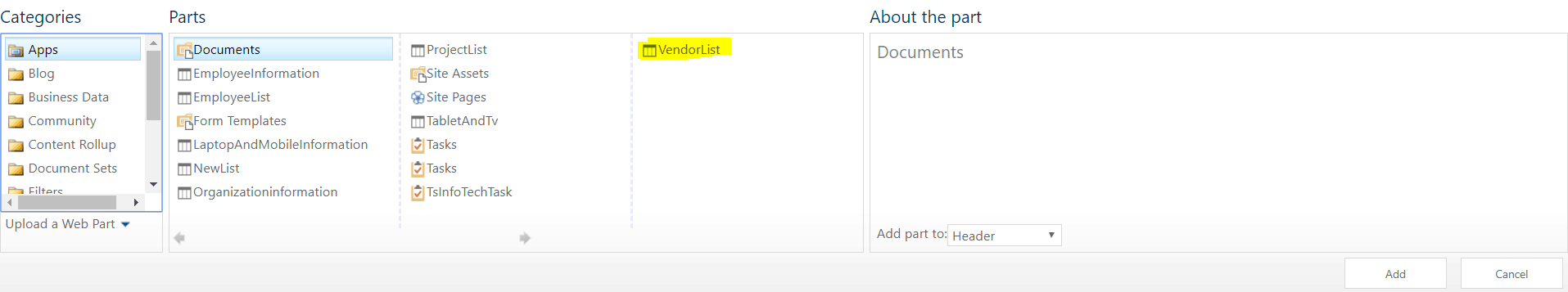 sharepoint text filter partial search