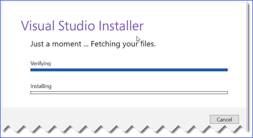 visual studio 2019 installation steps