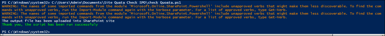 send email powershell office 365