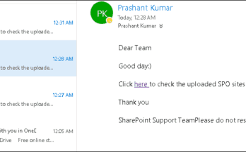 send email from office 365 using powershell