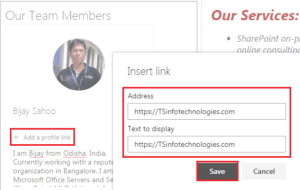 SharePoint Online People web part