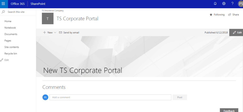 convert classic sharepoint site to modern