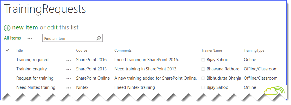 Bind SharePoint Online List Data into HTML table or jQuery