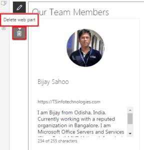 Modern People Web Part SharePoint Online and Office 365