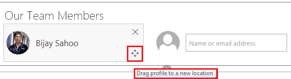 How to use People web part in SharePoint online