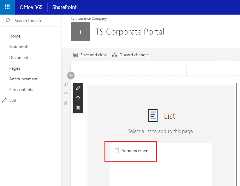 sharepoint online list view web part